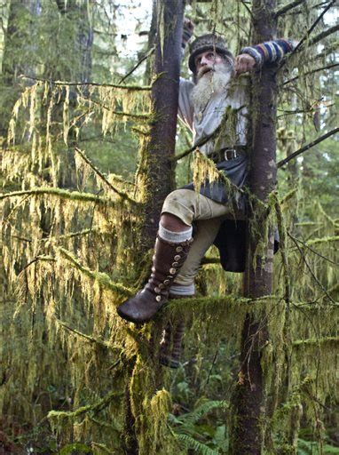 Hoh rain forest dweller featured in TV series   The