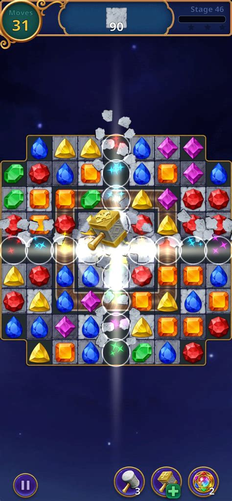 Jewels Magic: Mystery Match3 for iOS - Free download and