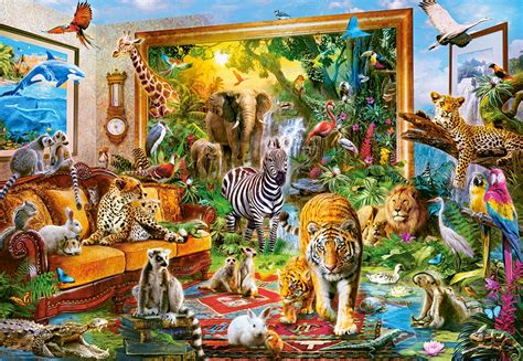 Puzzle Coming to Room Castorland-104321 1000 pieces Jigsaw