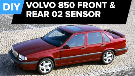 Volvo Oxygen Sensor Replacement (850 Turbo Front, Rear