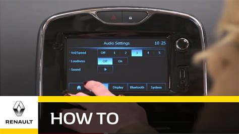How To: Use MediaNav For Radio or MP3 - Renault UK - YouTube