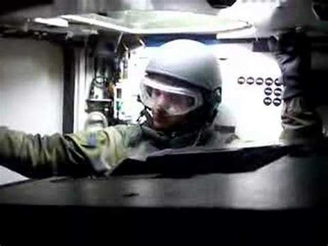 Leopard 2 inside tank loaders compartment - YouTube