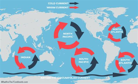 Ocean Gyres - Formation, Maps, & More   The 7 Continents