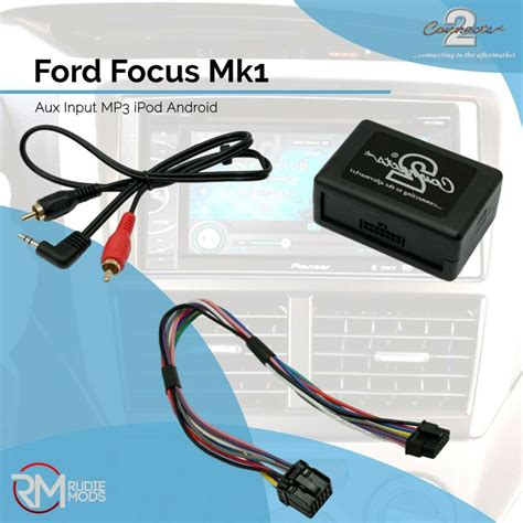 Connects2 CTVFOX001 Ford Focus Mk1 Music Aux Input Adapter