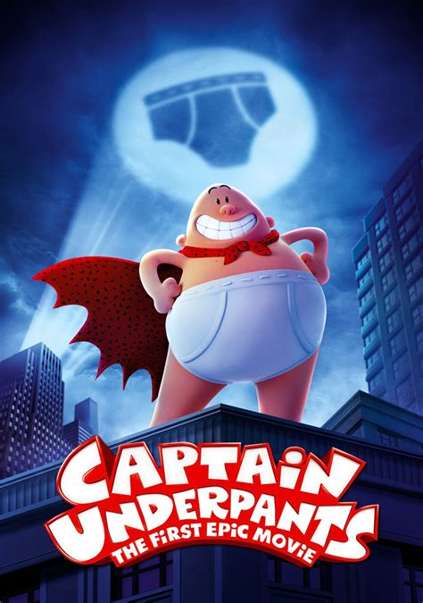 Captain Underpants: The First Epic Movie 2160p UHD Blu-ray