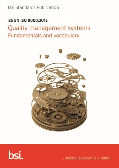 BS EN ISO 9000:2015 - Quality management systems
