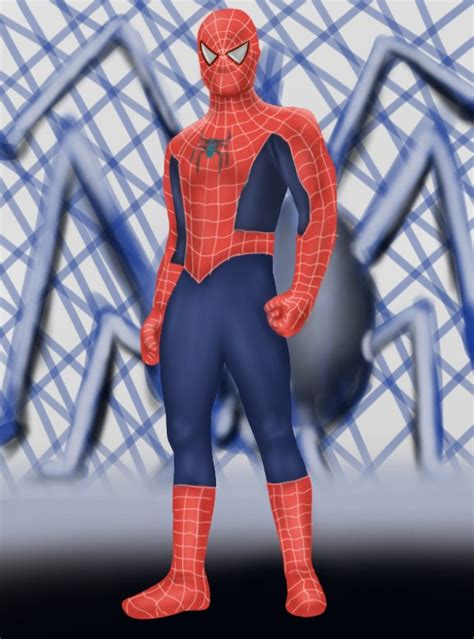 Step by Step How to Draw Spiderman Standing