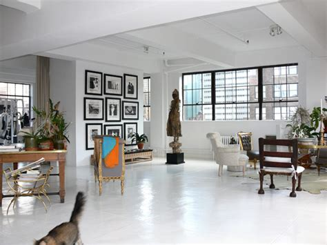 Painted Concrete Floors: Love This Look?   Six Different Ways