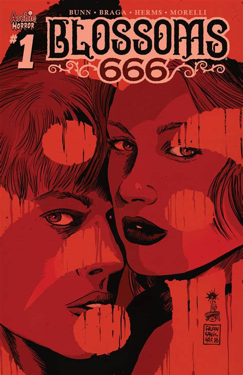 BLOSSOMS 666 #1 unlettered preview – First Comics News