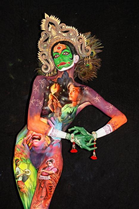 The best photos from the World Bodypainting Festival in