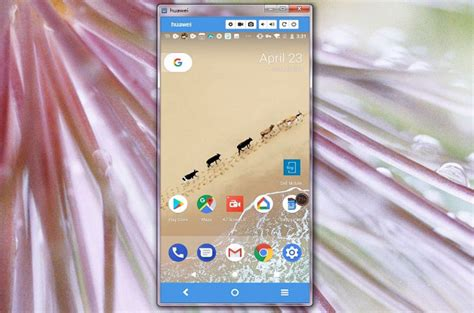 How to Mirror Huawei P20 to PC