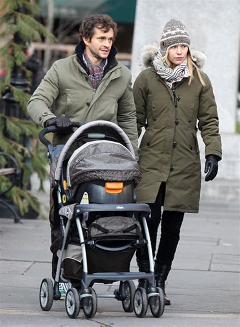 Claire Danes, Hugh Dancy Step Out With Baby Son Cyrus One