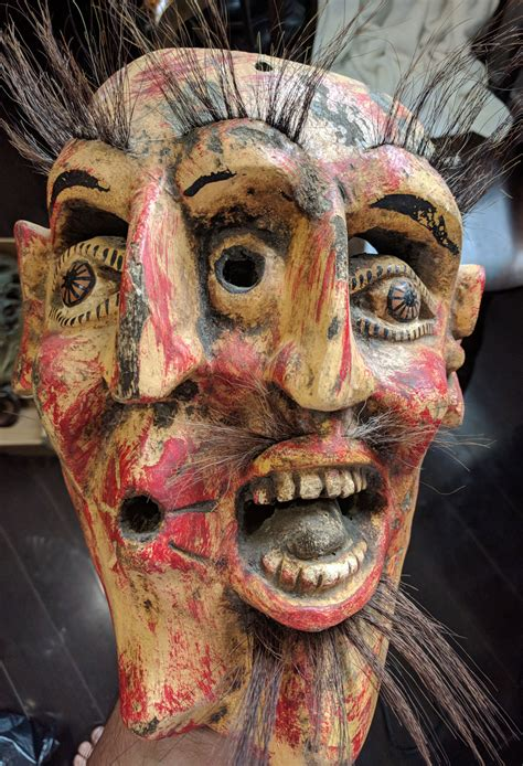 Mexican mask with interesting history – Masks of the World