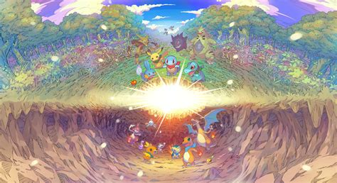 Pokémon Mystery Dungeon: Rescue Team DX Announced for