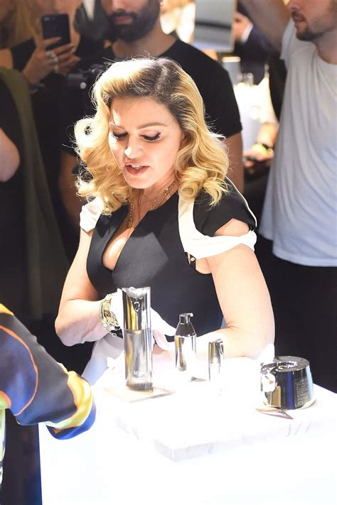 Madonna - Promotes Her MDNA Skin Line in NYC 09/26/2017