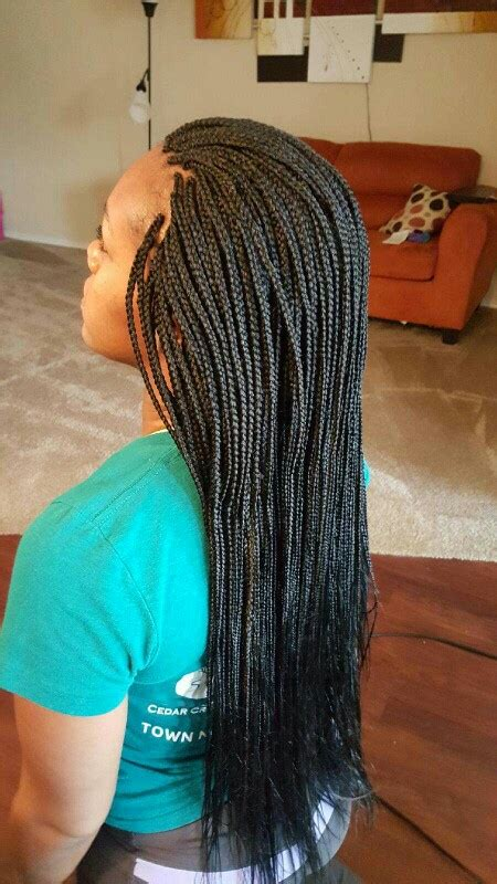 10 Long Box Braids With Loose Ends | New Natural Hairstyles