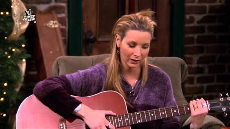 Friends - HD - Phoebe's Christmas Song - YouTube
