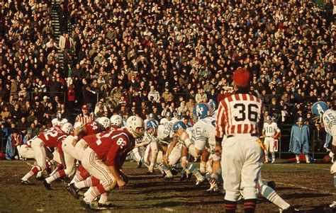 November 6, 1964 - Oilers at Patriots - Tales from the AFL