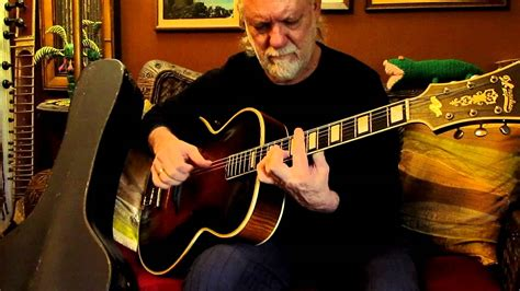 Jammin on a 1938 D'Angelico Style B Jazz Guitar Archtop