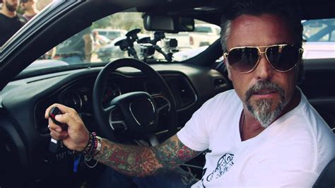 Richard Rawlings and his 2015 Dodge Challenger - Gumball