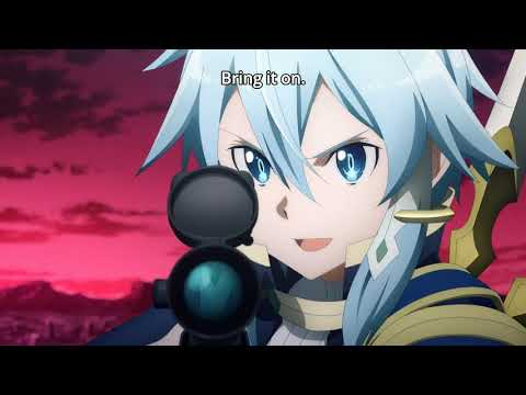 Sinon & Asuna Suit Up for a Holly Jolly Sword Art Online