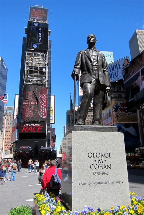 NYC - Times Square: Duffy Square - George M