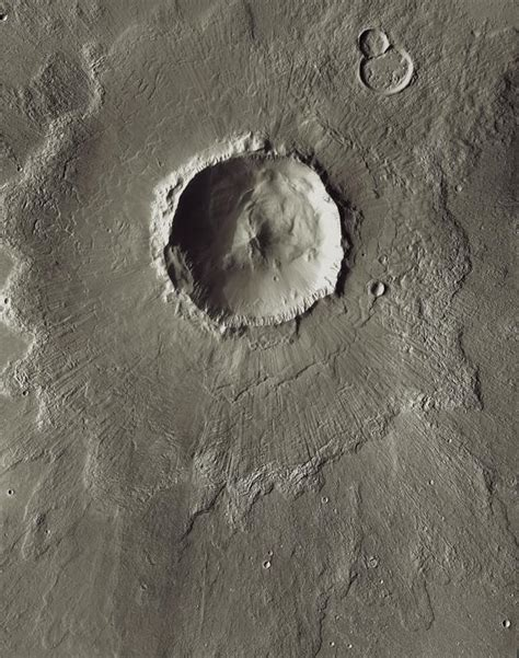 Space Images | Mars Odyssey All Stars: Bacolor Crater